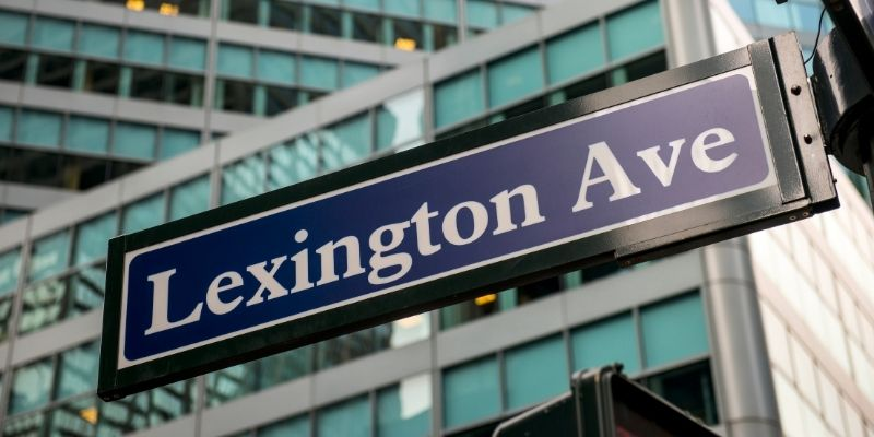 Lexington Avenue Sign